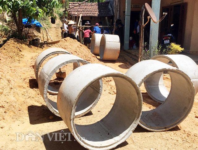 Quảng Ngãi: Thị xã chi tiền tỷ ngân sách đào giếng lấy nước sinh hoạt cho dân  - Ảnh 3.