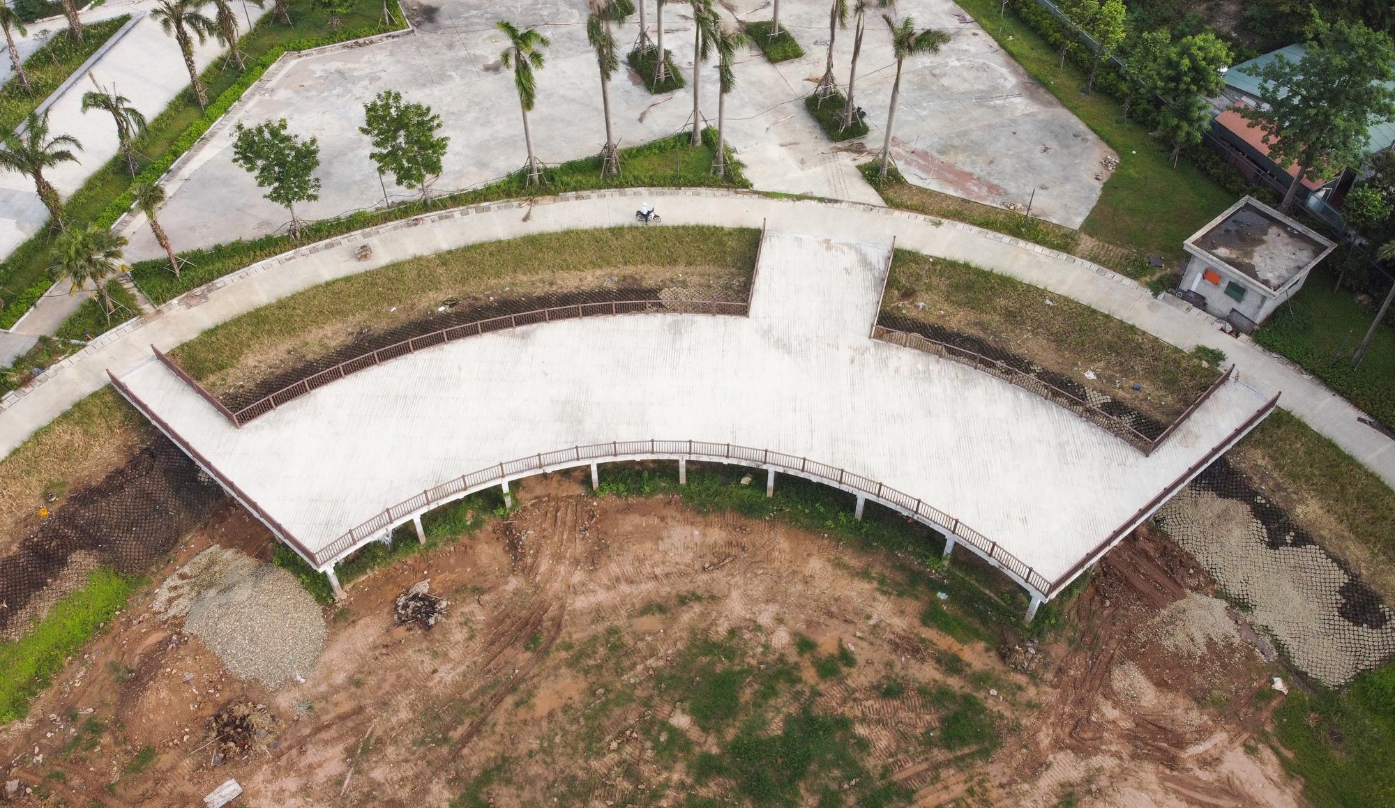 Công viên điều hòa Phùng Khoang nằm im sau 4 năm động thổ - Ảnh 10.