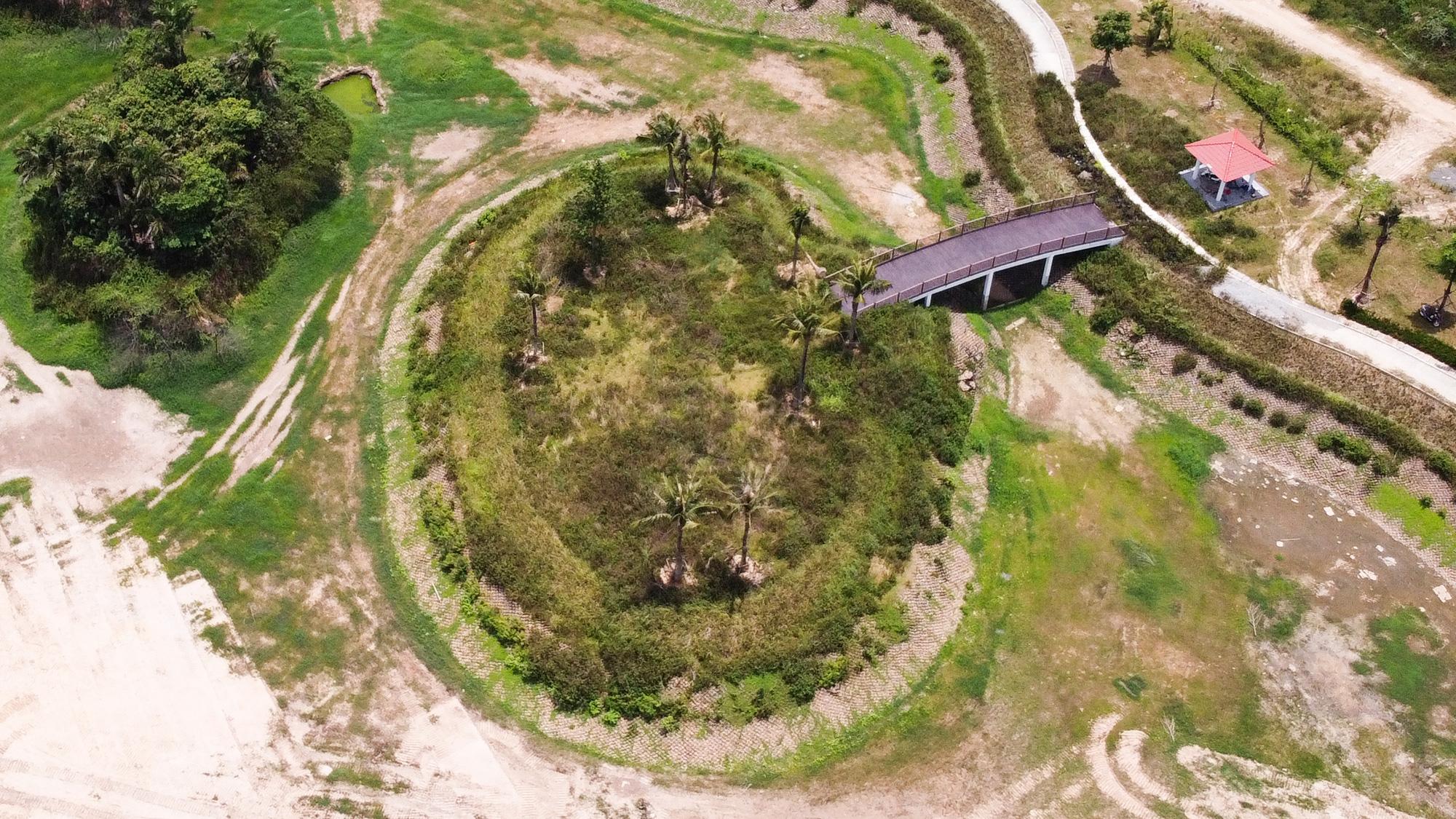 Công viên điều hòa Phùng Khoang nằm im sau 4 năm động thổ - Ảnh 11.
