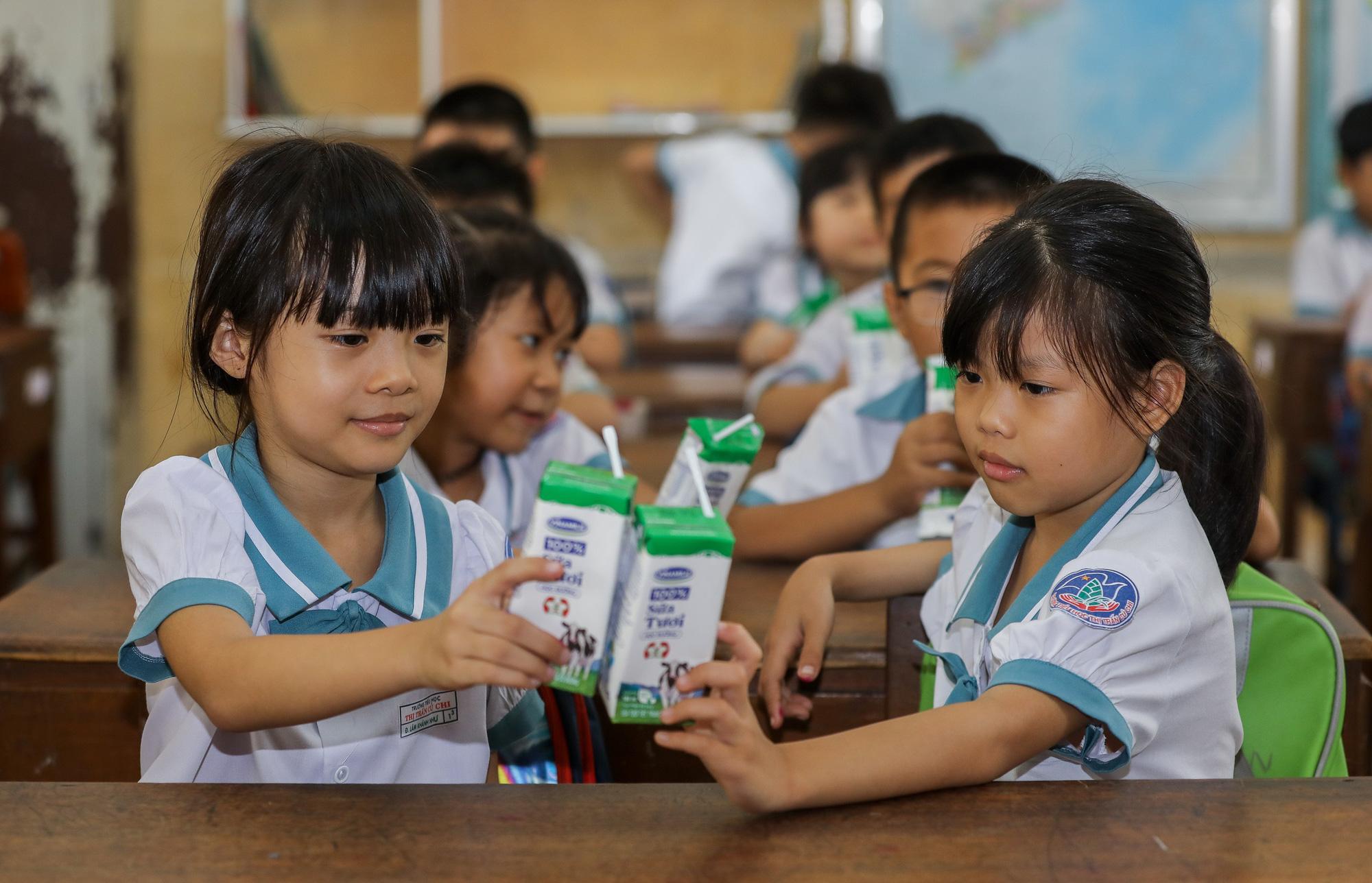 """Những giờ uống sữa """"vui khoẻ, an toàn"""" của học sinh TP.HCM - Ảnh 6."""