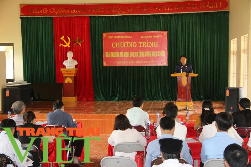 Sơn La: Khai trương mô hình du lịch cộng đồng tại xã Ngọc Chiến - Ảnh 1.