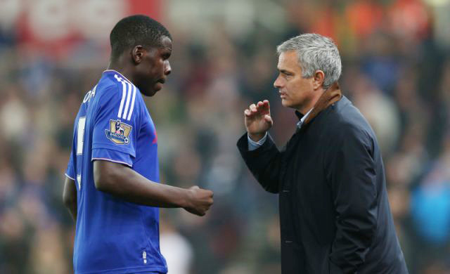Mourinho và Zouma hồi còn ở Chelsea