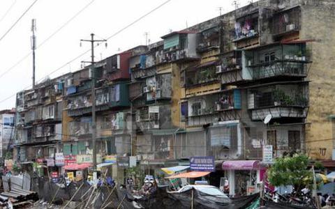 """Đề xuất """"cơ chế đặc thù"""" để đẩy nhanh tiến độ cải tạo chung cư cũ, xuống cấp - Ảnh 1."""