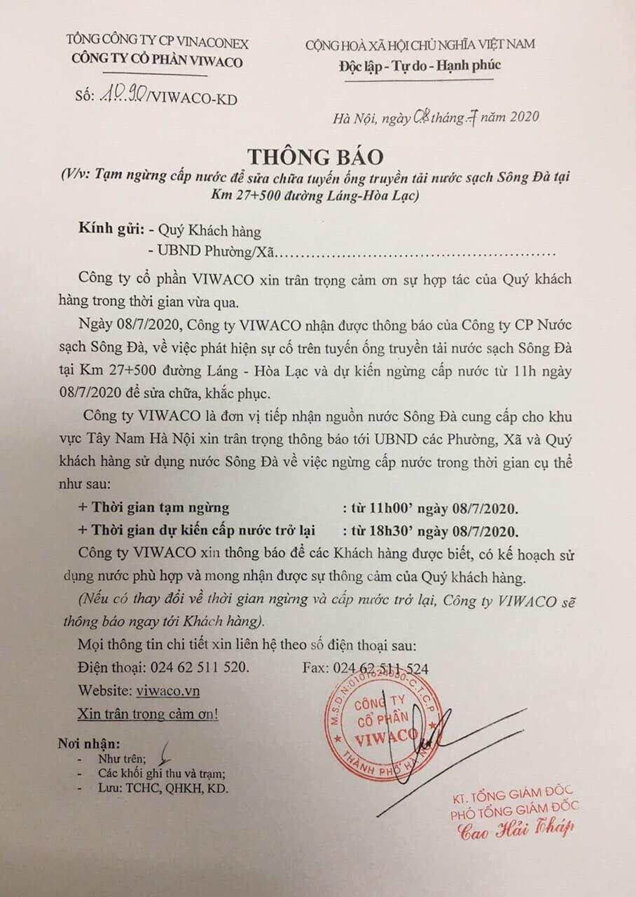 Chung cư Hateco Xuân Phương: Người dân về ở chưa được một năm, chịu cảnh mất nước gần chục lần - Ảnh 2.