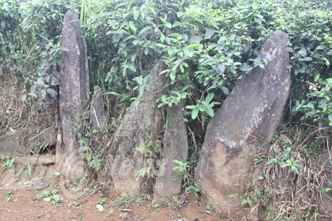 Nghĩa địa bí ẩn chôn những người bị hổ vồ bên sông Mã - Ảnh 1.