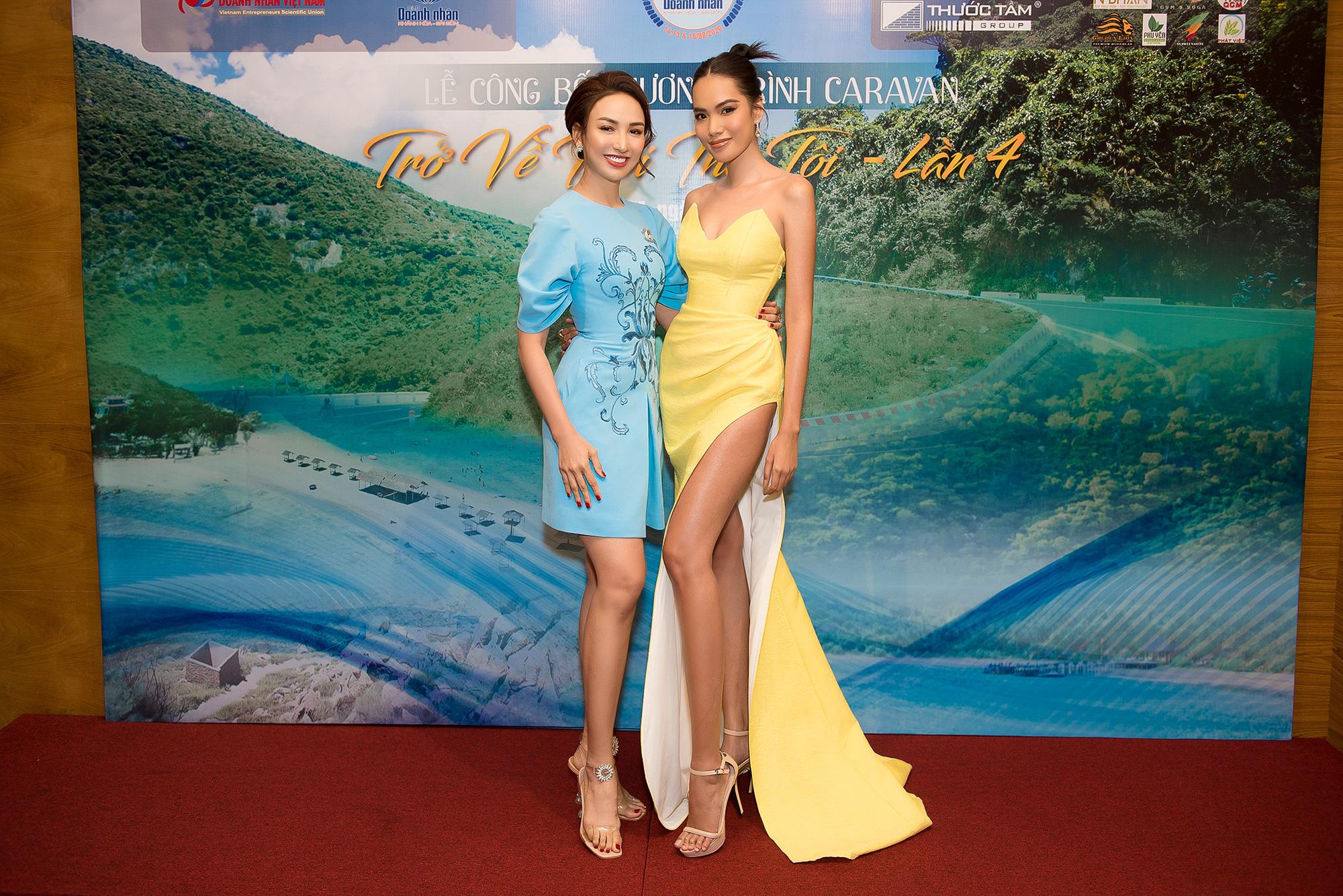 Hoa hậu Ngọc Diễm hội ngộ Dương Triệu Vũ tại Caravan thiện nguyện - Ảnh 2.