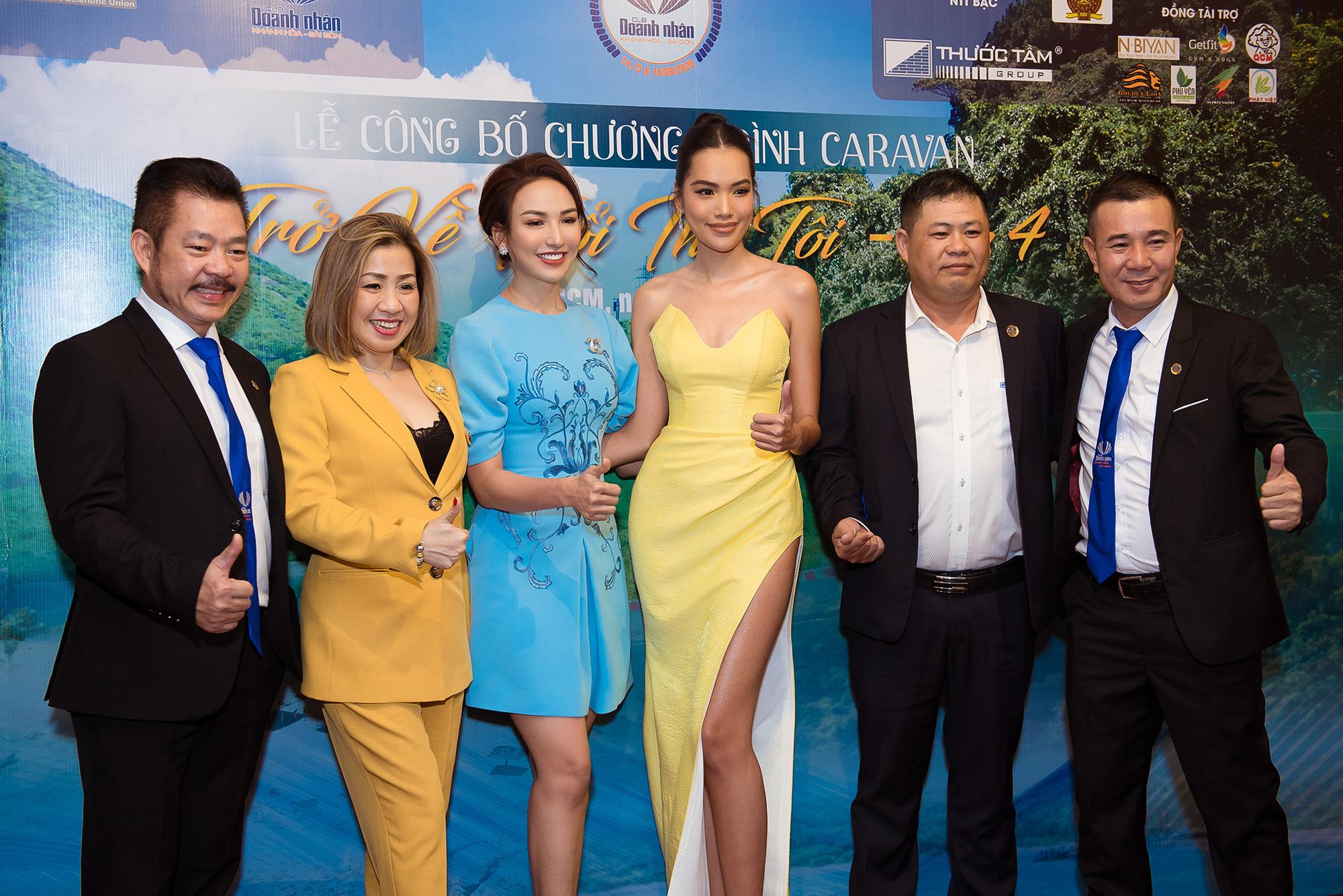 Hoa hậu Ngọc Diễm hội ngộ Dương Triệu Vũ tại Caravan thiện nguyện - Ảnh 3.