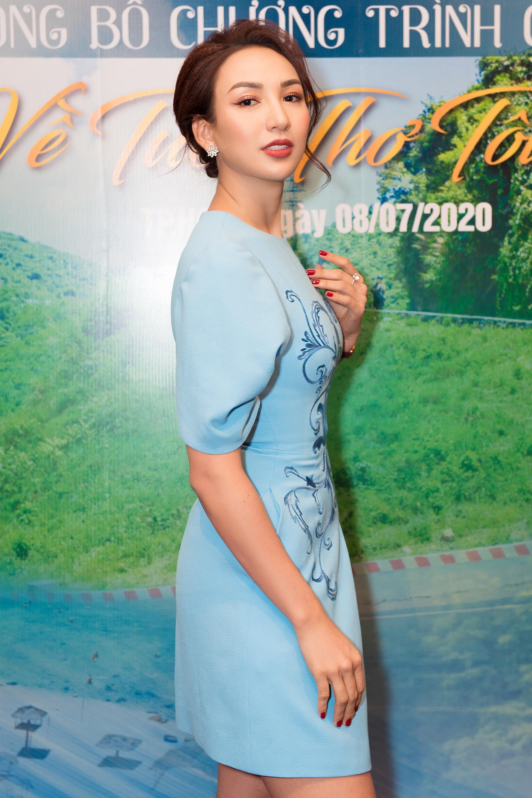 Hoa hậu Ngọc Diễm hội ngộ Dương Triệu Vũ tại Caravan thiện nguyện - Ảnh 5.