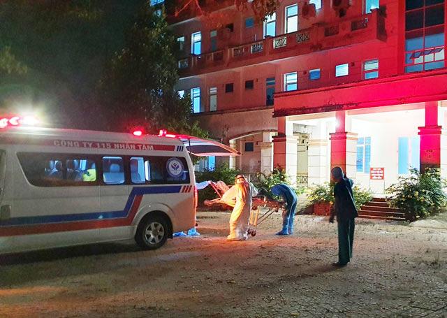"""Quảng Ngãi: Chia """"lửa"""" để giảm tải bệnh nhân cách ly Covid-19 với BV Đà Nẵng, Quảng Nam  - Ảnh 1."""