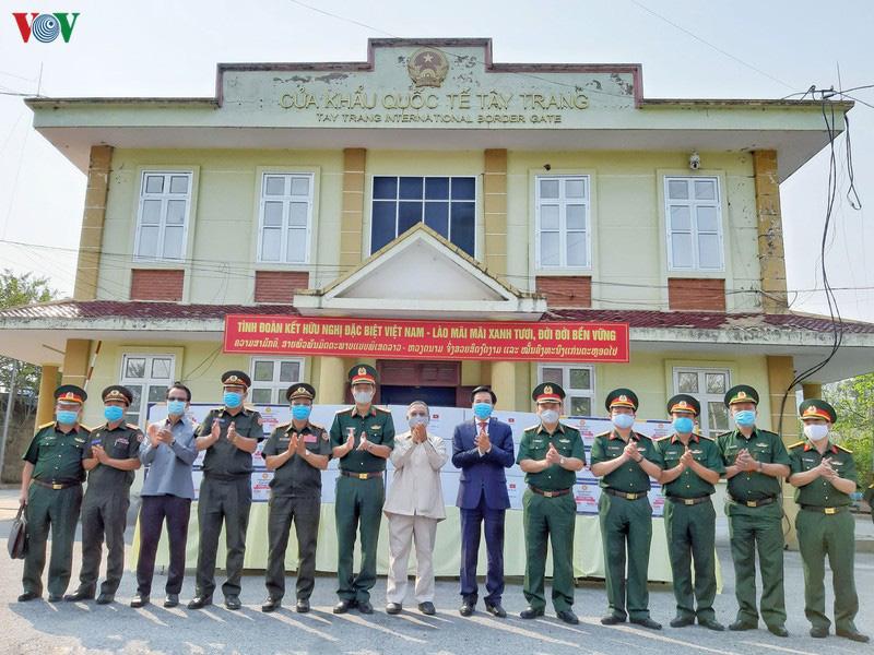 Biên phòng Điện Biên căng mình chống dịch trên tuyến biên giới - Ảnh 7.