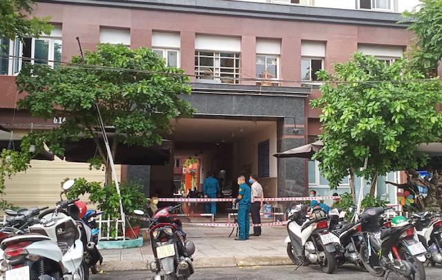 Cận cảnh chung cư Thái An 2 đang bị phong tỏa - Ảnh 1.