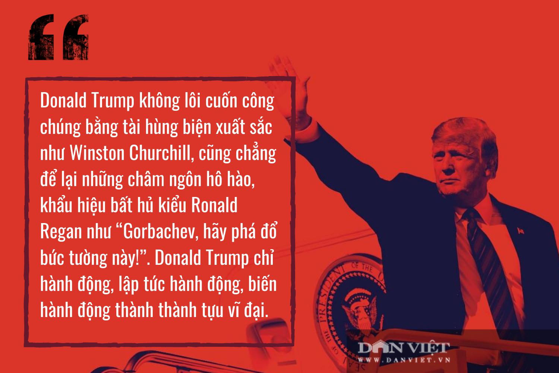 """4 năm - 1 nhiệm kỳ, ông Trump đã """"đưa nước Mỹ vĩ đại trở lại"""" như thế nào? - Ảnh 4."""