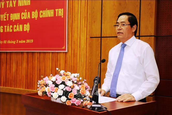 Chân dung 3 Ủy viên Trung ương được điều động sang địa phương khác tiếp tục giữ chức Bí thư Tỉnh ủy - Ảnh 1.
