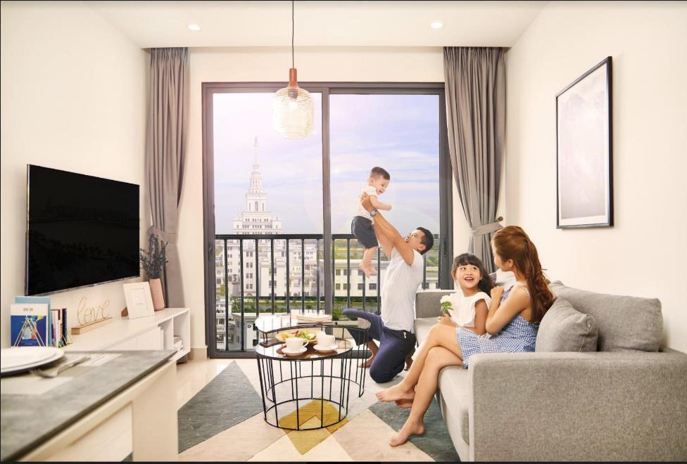 Ra mắt căn hộ dịch vụ cho thuê cao cấp tại Vinhomes Ocean Park - Ảnh 2.