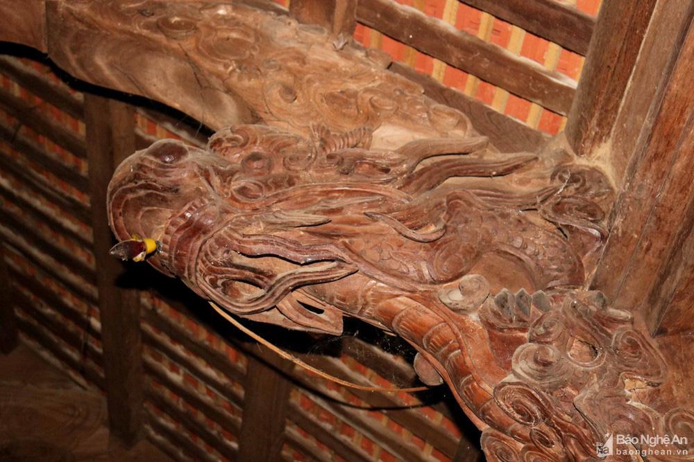 """Độc đáo """"nét chạm trổ phượng long"""" của ngôi đền cổ làng trung du Nghệ An - Ảnh 7."""
