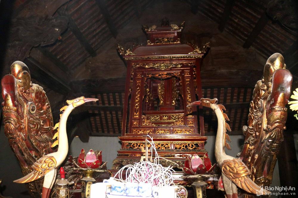 """Độc đáo """"nét chạm trổ phượng long"""" của ngôi đền cổ làng trung du Nghệ An - Ảnh 8."""
