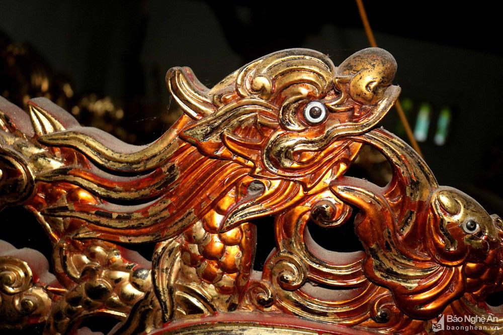 """Độc đáo """"nét chạm trổ phượng long"""" của ngôi đền cổ làng trung du Nghệ An - Ảnh 9."""