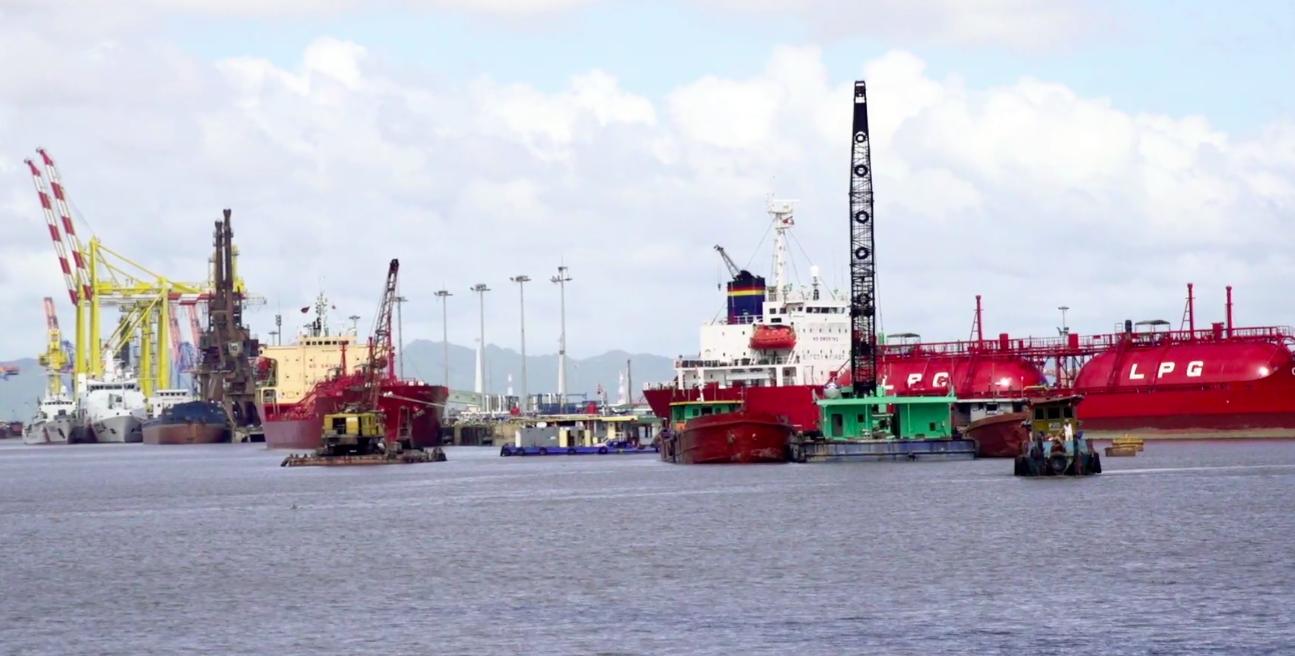 Bất chấp dịch Covid-19: Hàng hóa qua cảng biển tăng trưởng ra sao? - Ảnh 1.