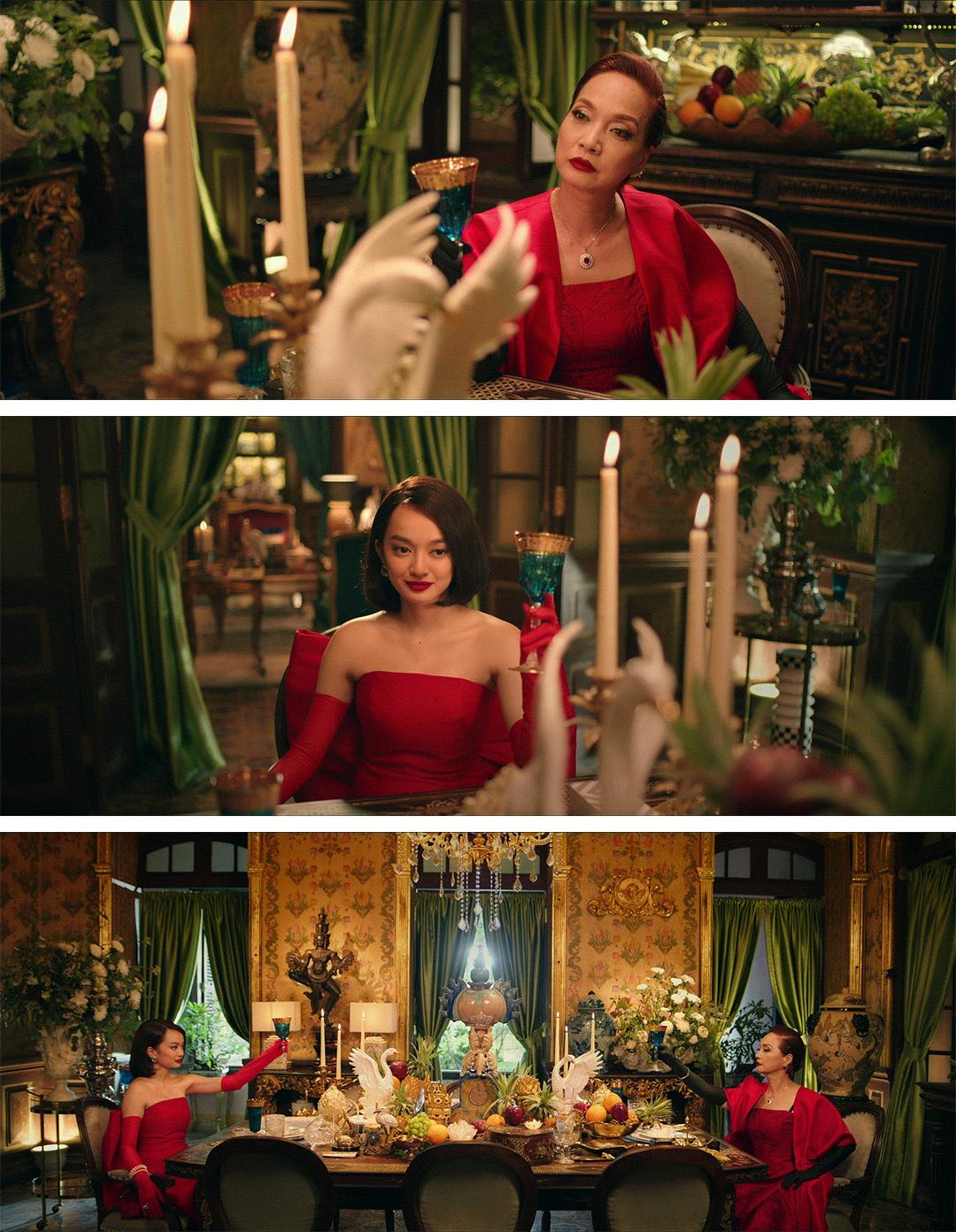 """Kaity Nguyễn và Lê Khanh hóa chị em tương tàn vì mỹ nam trong first look """"Gái già lắm chiêu V"""" - Ảnh 2."""