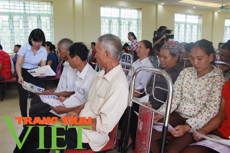 Hoà Bình: Bảo hiểm y tế điểm tựa cho người dân - Ảnh 2.