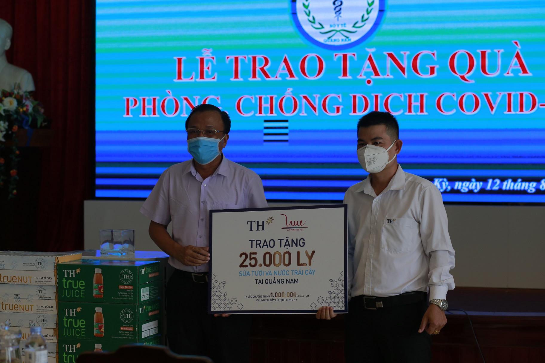 Quảng Nam - Đà Nẵng: Tiếp nhận 50.000 ly sữa tiếp sức cho phòng chống dịch Covid-19    - Ảnh 1.