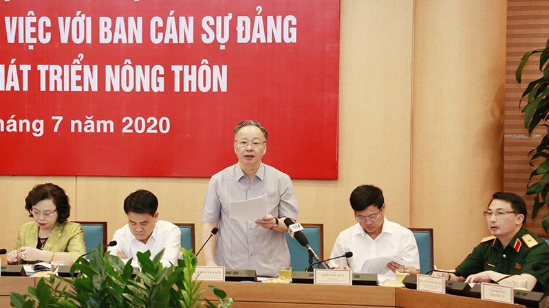 Chân dung hai Phó Chủ tịch UBND TP Hà Nội vừa tạm thay công việc của ông Nguyễn Đức Chung - Ảnh 2.