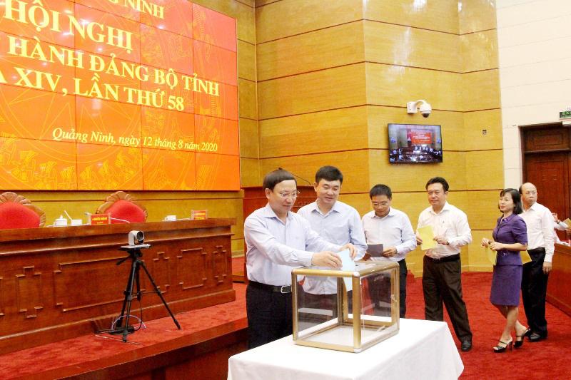 Bí thư, Chủ tịch Quảng Ninh được thống nhất giới thiệu vào BCH Trung ương Đảng khóa XIII - Ảnh 1.