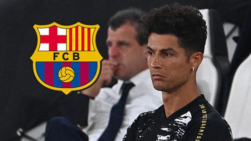 Juventus mời Barcelona mua Ronaldo.