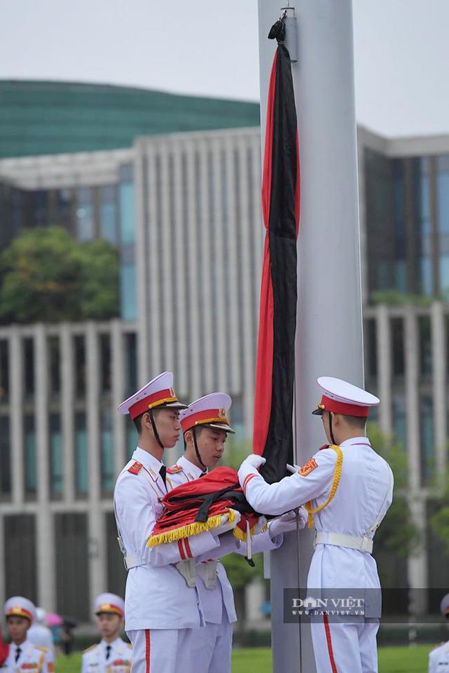 Trực tiếp: Quốc tang nguyên Tổng bí thư Lê Khả Phiêu - Ảnh 9.