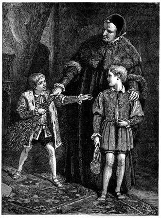 Kinh hãi con vua phạm lỗi, đứa trẻ học cùng bị trừng phạt thay - Ảnh 1.