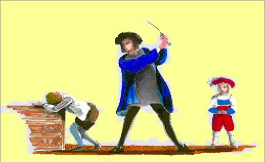 Kinh hãi con vua phạm lỗi, đứa trẻ học cùng bị trừng phạt thay - Ảnh 2.