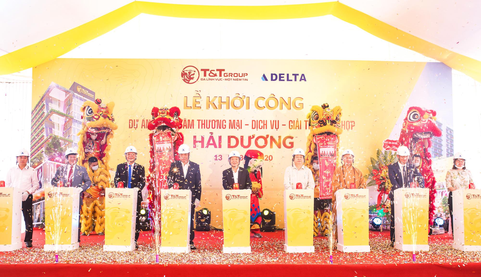 T&T Group khởi công xây dựng Trung tâm thương mại tại trung tâm thành phố Hải Dương - Ảnh 1.