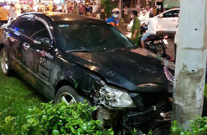 Nữ tài xế lái ô tô Camry tông hàng loạt xe máy ở TP.HCM khai gì? - Ảnh 5.