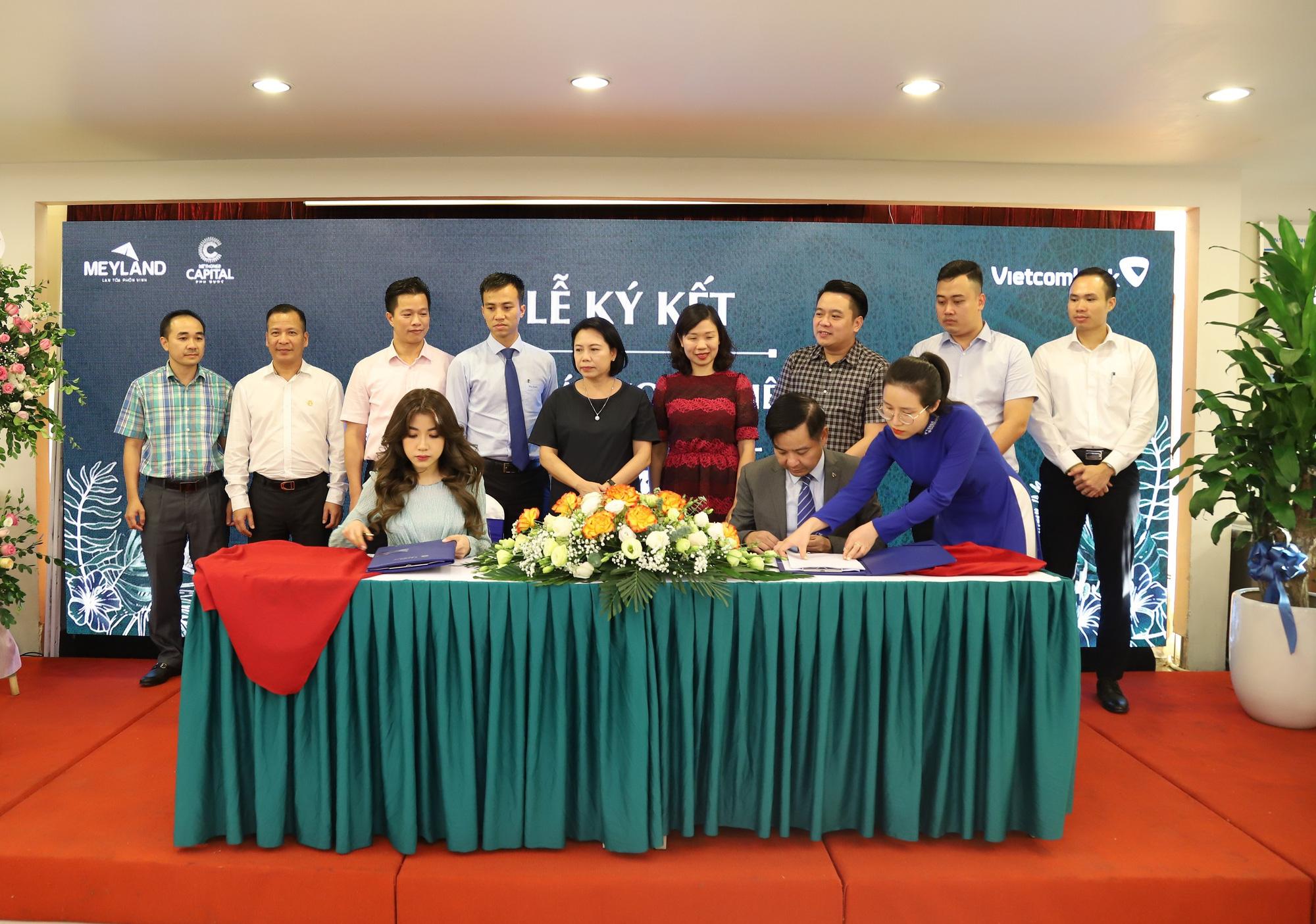 Tân Á Đại Thành – Meyland và ngân hàng Vietcombank ký kết hợp tác toàn diện - Ảnh 1.