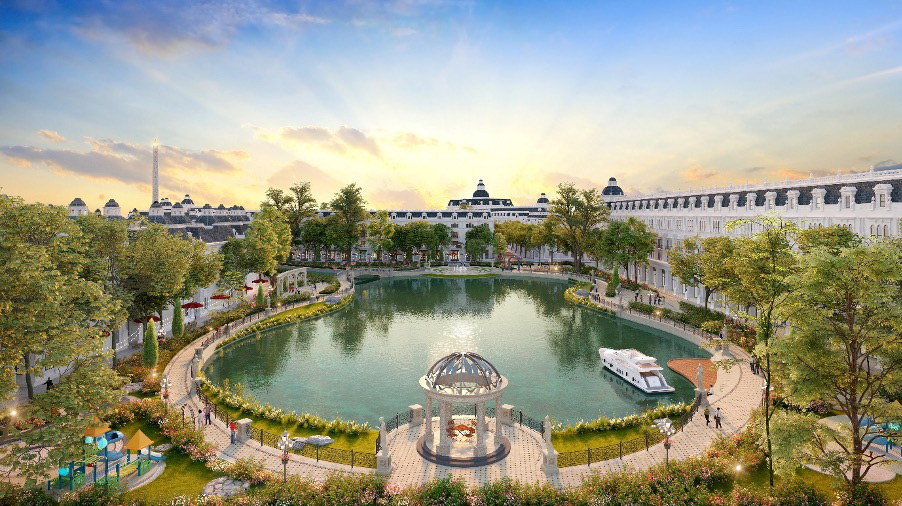 Trải nghiệm cuộc sống tại KĐT có thiết kế cảnh quan đẹp nhất Việt Nam - Ảnh 3.