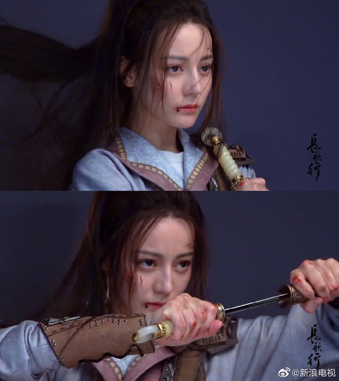 """Địch Lệ Nhiệt Ba bị lộ ảnh mặc đồ cổ trang hóa thiếu nữ 15 tuổi khiến fan """"đứng ngồi không yên"""" - Ảnh 4."""