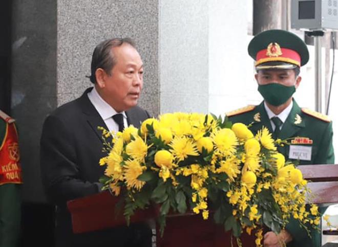 Trực tiếp: Quốc tang nguyên Tổng bí thư Lê Khả Phiêu - Ảnh 3.