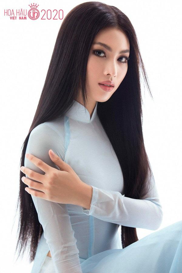"""Mỹ nữ chân dài 1,11m gây """"sốt"""" tại Hoa hậu Việt Nam 2020, xinh đẹp không kém Lương Thùy Linh - Ảnh 1."""