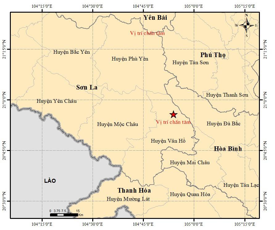 Vì sao Sơn La xuất hiện 7 trận động đất trong 1 ngày? - Ảnh 1.