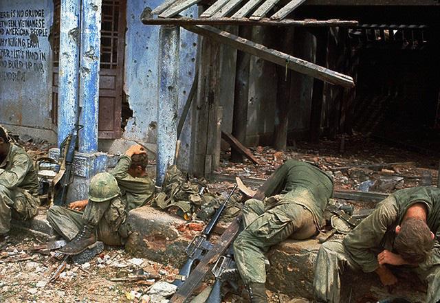 Khoảnh khắc quá độc lính Mỹ rệu rã trong Chiến tranh Việt Nam - Ảnh 7.