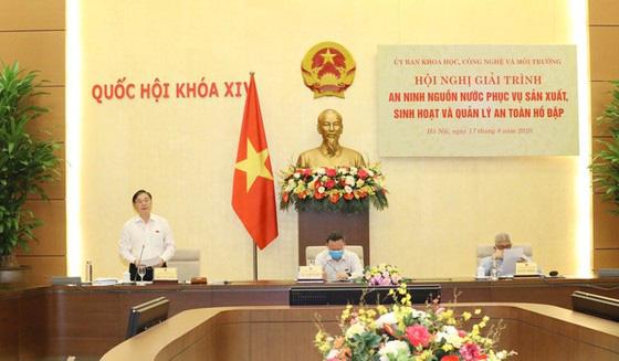 """Bộ trưởng Nguyễn Xuân Cường: """"Nay mai không có tệp số liệu, đại hồng thủy nó đến làm thế nào?"""" - Ảnh 1."""