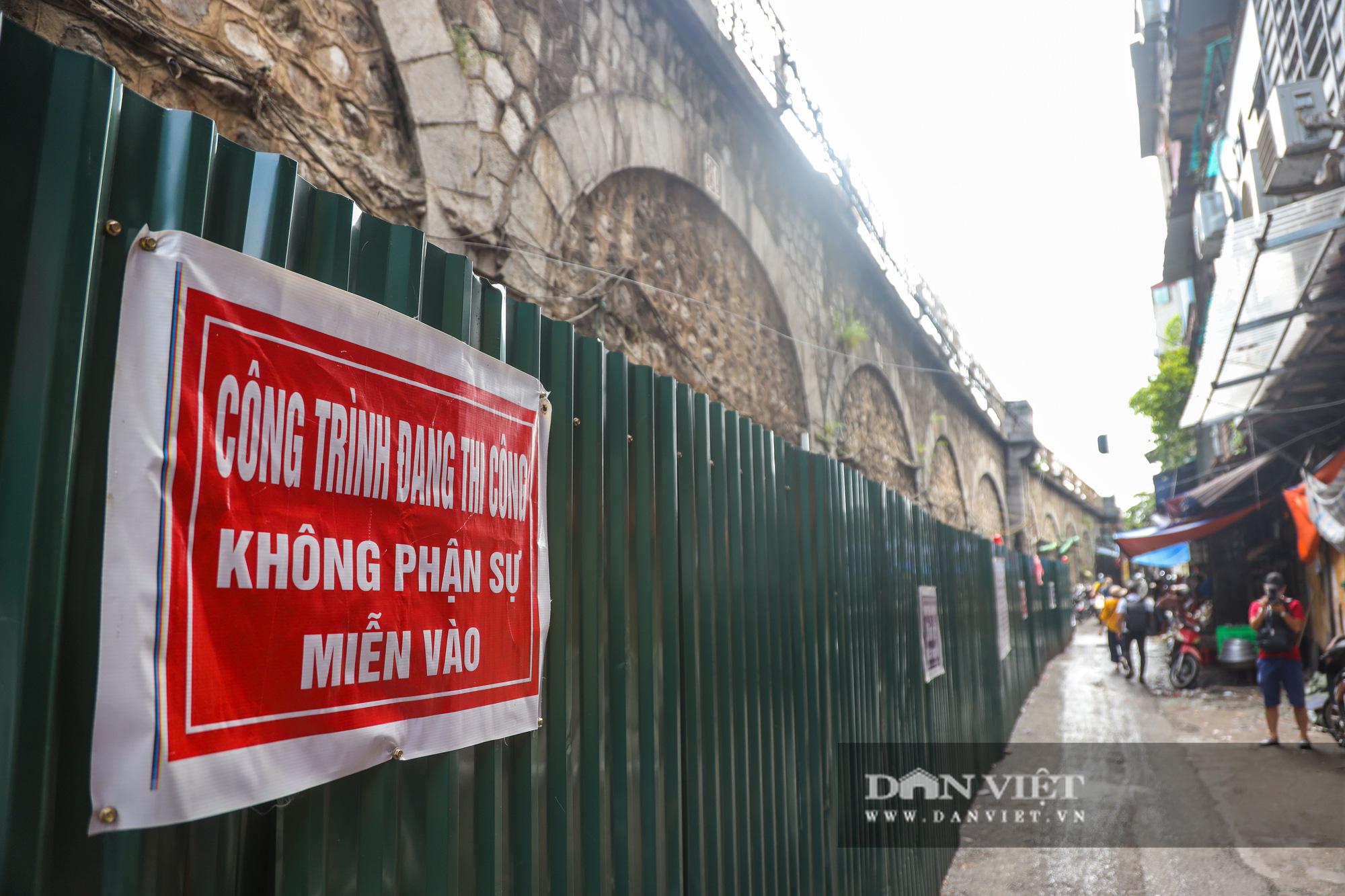 Hà Nội: Tiến hành thi công đục thông 5 vòm cầu Phùng Hưng - Ảnh 8.