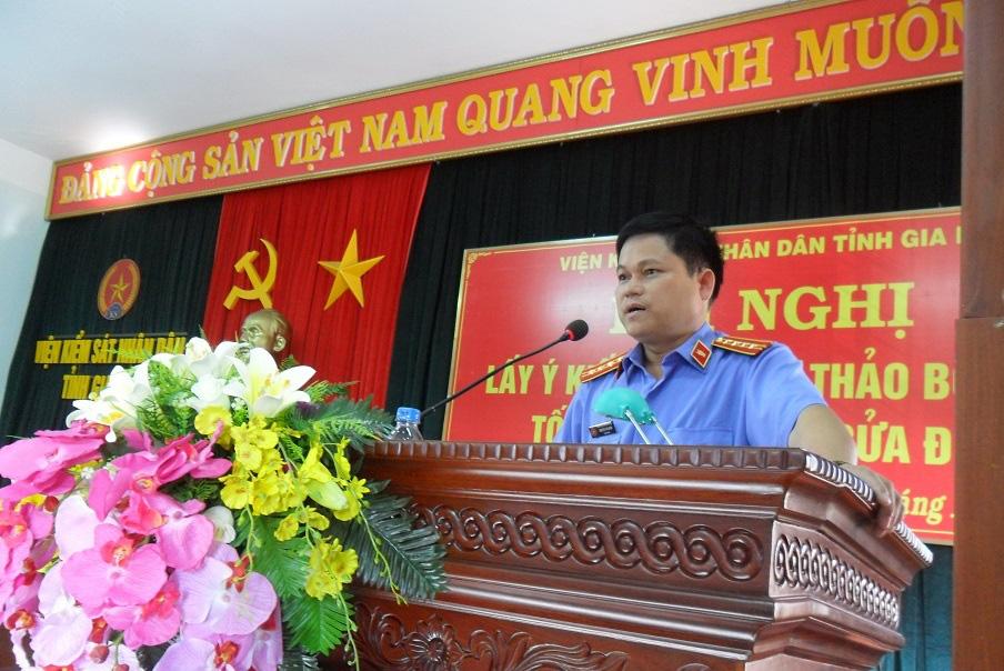 Kỷ luật nguyên Viện trưởng Viện KSND tỉnh Gia Lai Nguyễn Văn Quân - Ảnh 1.