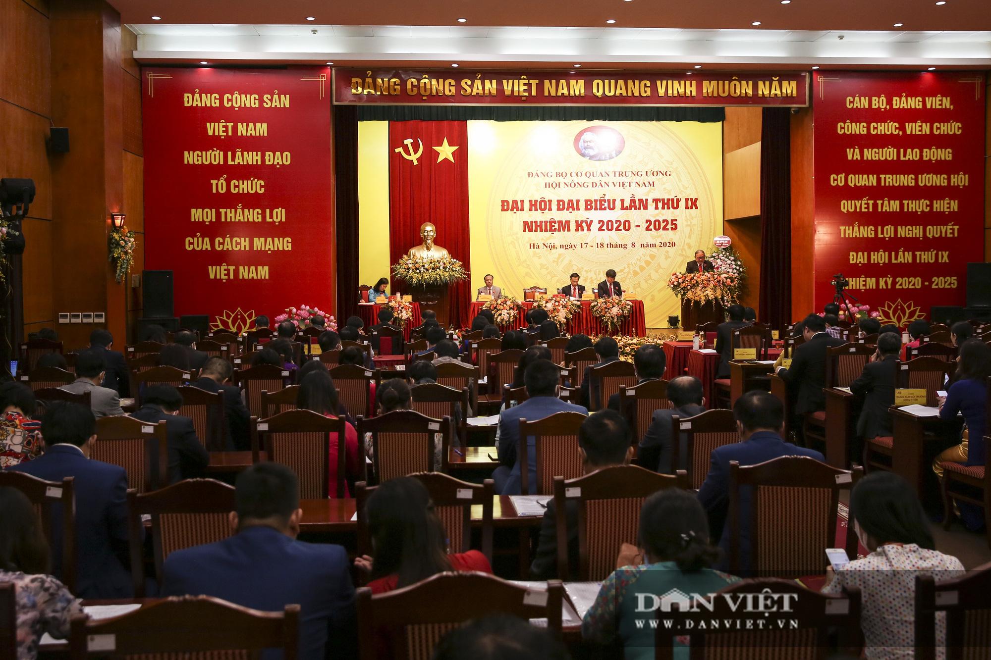 Toàn cảnh khai mạc Đại hội đại biểu Đảng bộ cơ quan T.Ư Hội Nông dân Việt Nam - Ảnh 5.