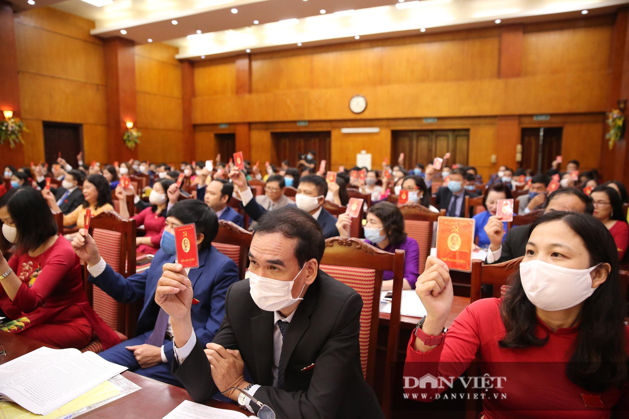 Toàn cảnh khai mạc Đại hội đại biểu Đảng bộ cơ quan T.Ư Hội Nông dân Việt Nam - Ảnh 7.