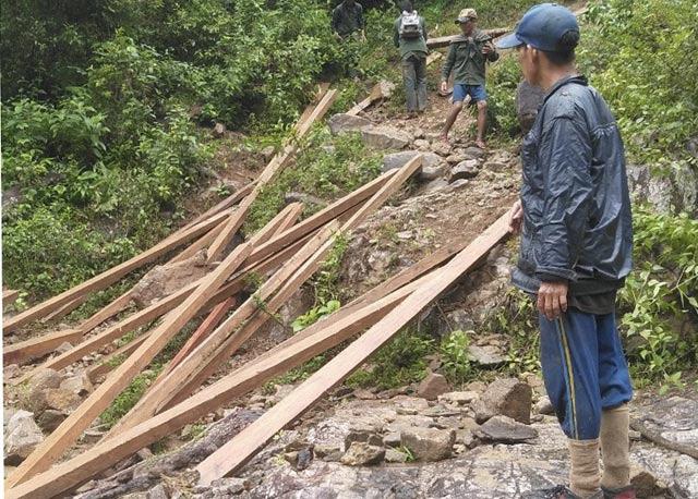 Quảng Ngãi: Sau gỗ, phát hiện săn thú trái phép ở rừng NM thủy điện Đăkre  - Ảnh 4.