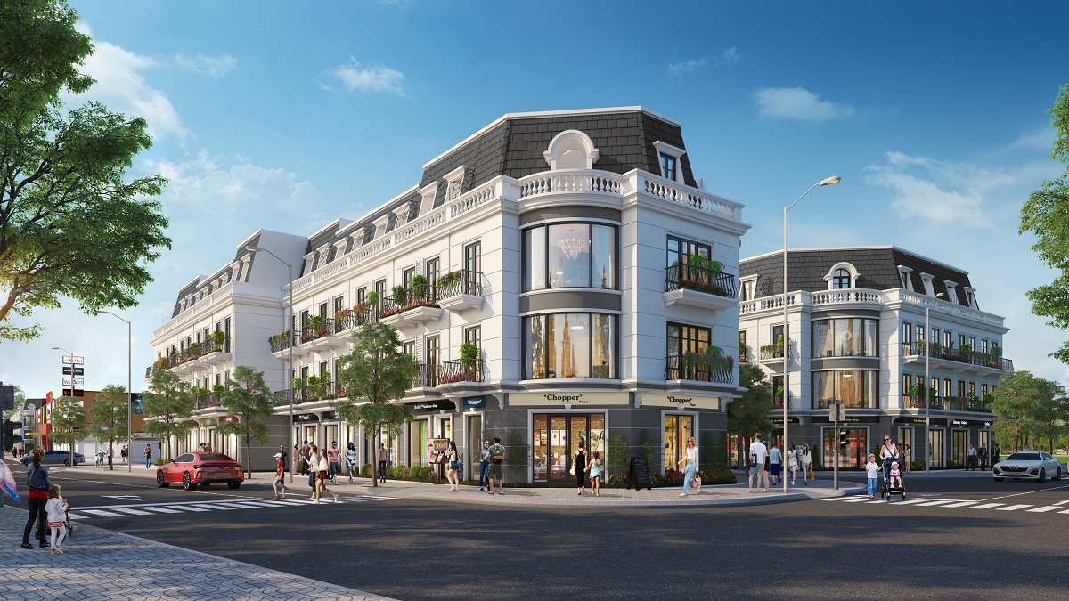 Vingroup ra mắt Vincom Shophouse Uông Bí – Quảng Ninh - Ảnh 1.