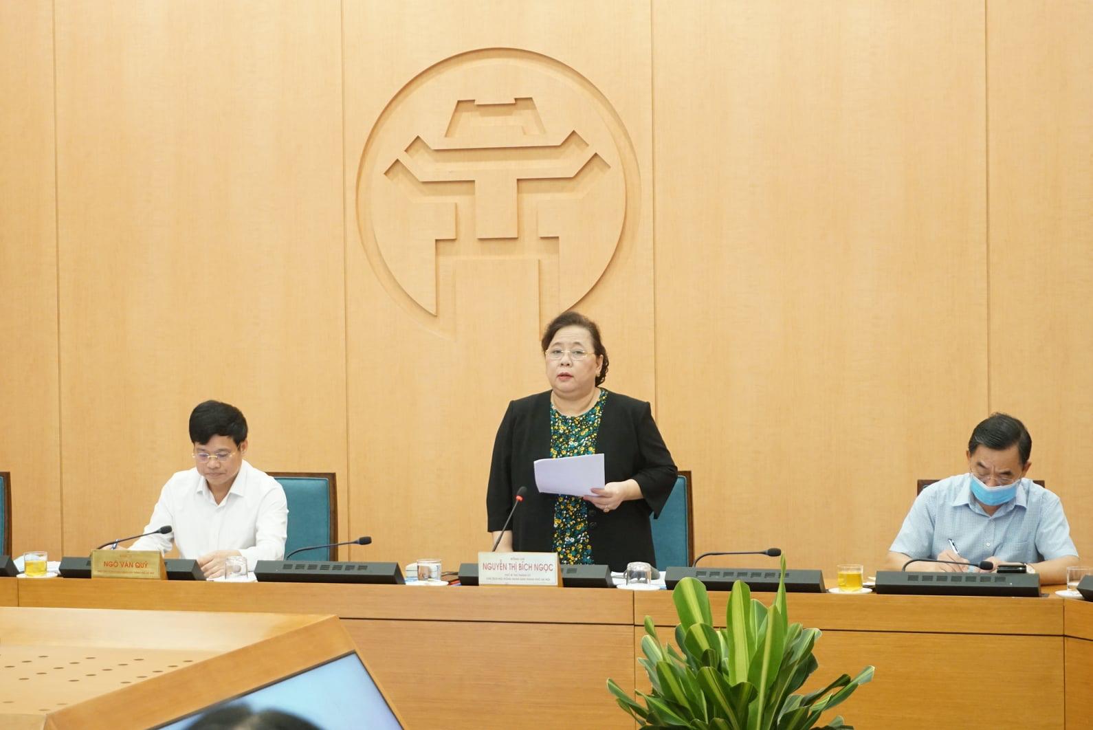 """Nữ Chủ tịch HĐND Hà Nội chủ trì họp chống dịch Covid-19: """"Không làm người dân hoang mang, phải có tinh thần chống dịch"""" - Ảnh 1."""