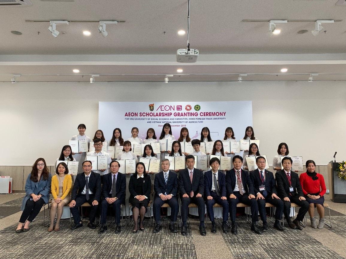 Nhiều doanh nghiệp lớn vào cuộc tặng 300 suất học bổng cho tân sinh viên Học viện Nông nghiệp Việt Nam - Ảnh 3.
