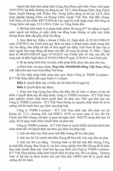 Apple ngưng sản xuất iPhone tại Việt Nam: Đối tác của Apple vướng nhiều sai phạm khi cho công nhân lưu trú trong doanh nghiệp - Ảnh 3.